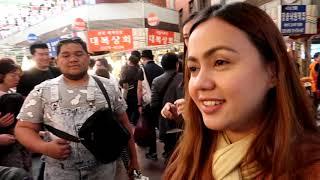 STREET FOODS IN KOREA / NAKIPAGTAWARAN AKO SA PALENGKE