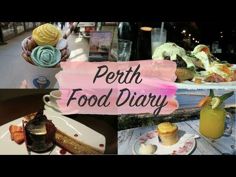 FOOD DIARY - PERTH AUSTRALIA - 12 Restaurants & Cafès