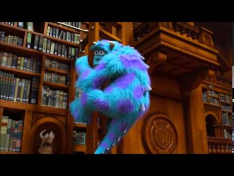 Movie Libraries Monster University Wrotetrips