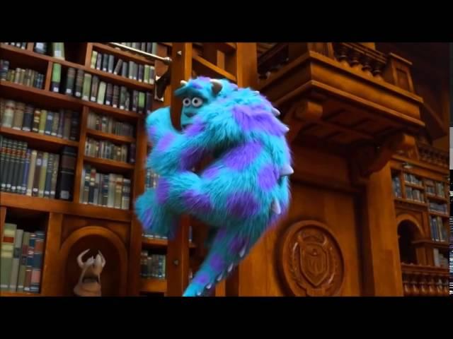 Movie Libraries Monster University Wrotetrips