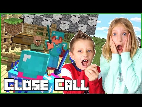 Close Call / Minecraft Challenge Games