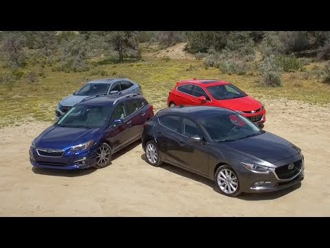 2017 Compact Hatchback Comparison - Kelley Blue Book