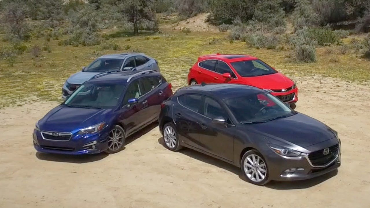 2017 Compact Hatchback Comparison - Kelley Blue Book - YouTube