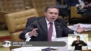 Gilmar Mendes e Luís Roberto Barroso batem boca no plenário do STF
