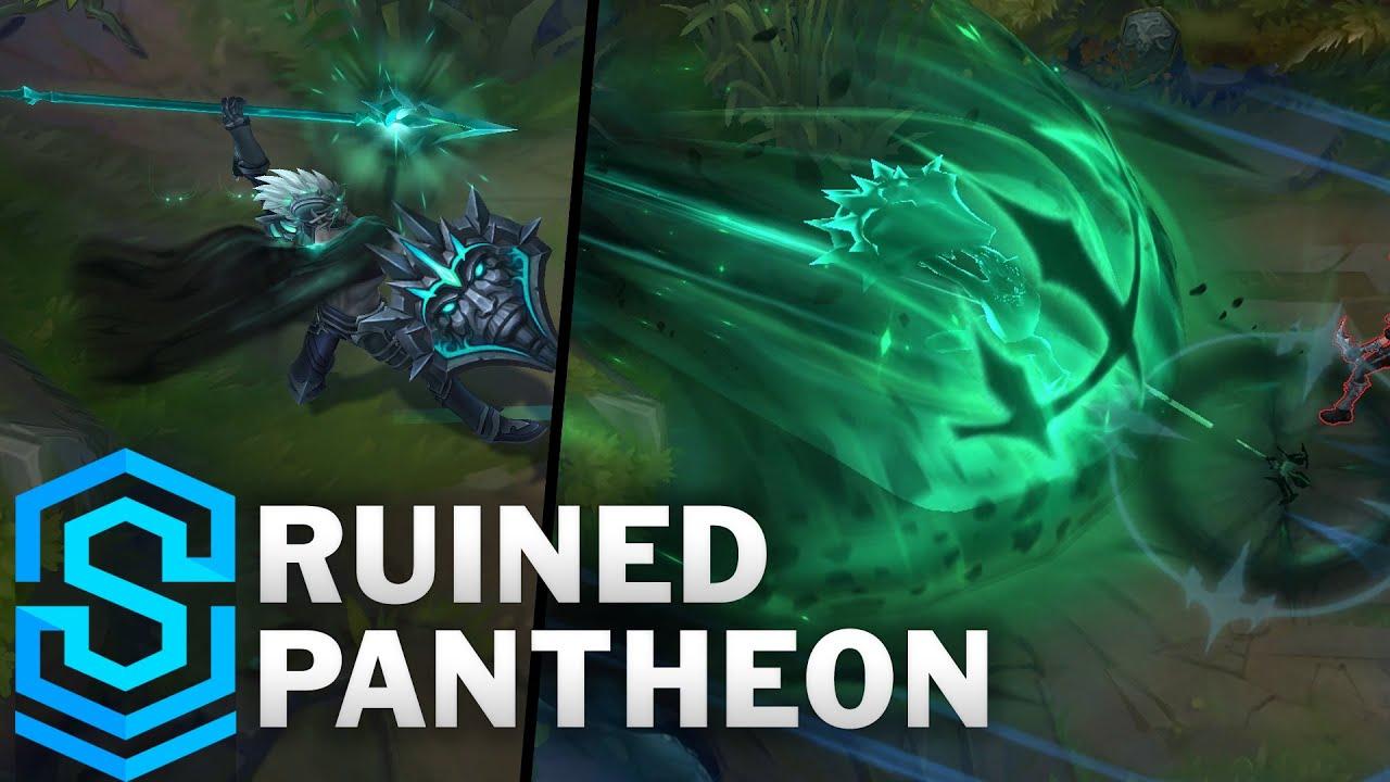 Ruined Pantheon Skin Spotlight - Pre-Release - League of Legends