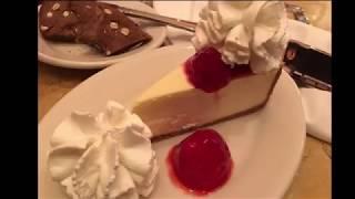 Matt's Playtime National Cheesecake Day at Cheesecake Factory