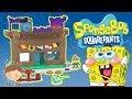 KRUSTY KRAB PLAYSET Toy Unboxing Fun Toys Spongebob Squarepants Bikini Bottom Secret Formula ErusTV
