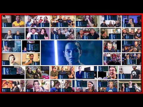 Star Wars: The Rise of Skywalker Final Trailer Mega Reactions Mashup