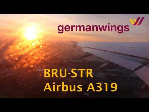 Germanwings A319 flight Brussels - Stuttgart trip report