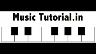 Lesson 4 - How to draw Piano Keyboard