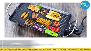 Bếp nướng điện không khói Sunhouse SHD4607 1500W