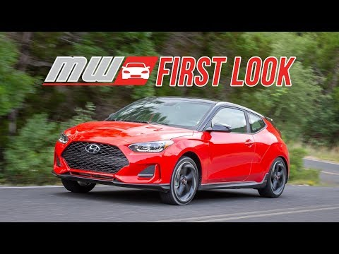 2019 Hyundai Veloster First Drive