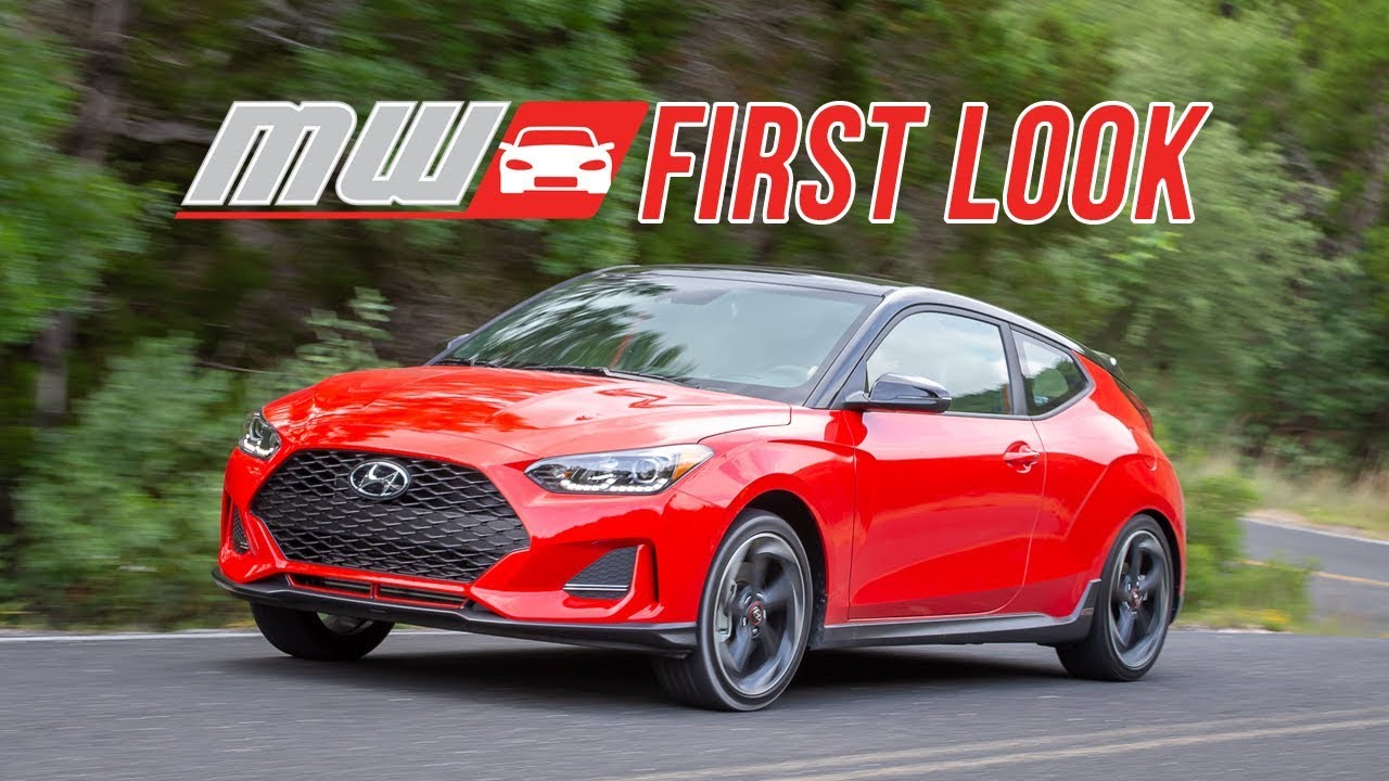 2019 Hyundai Veloster | First Drive
