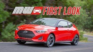 2019 Hyundai Veloster First Drive смотреть