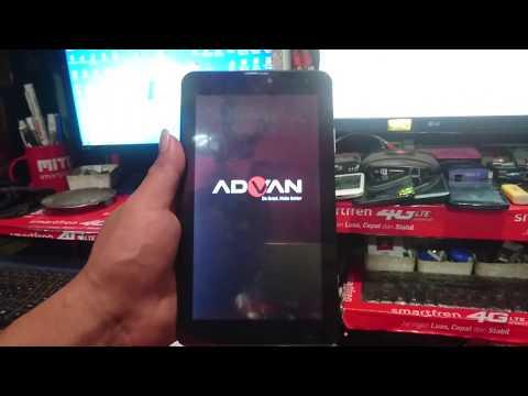 Cara membuka password tablet advan android yg lupa.