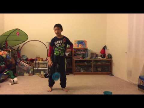 Chinese YoYo intermediate trick #14 360 Toss
