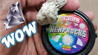 HEMPZOTICS HEMPROCKS Pure CBD Isolate with High CBD Hemp Flower