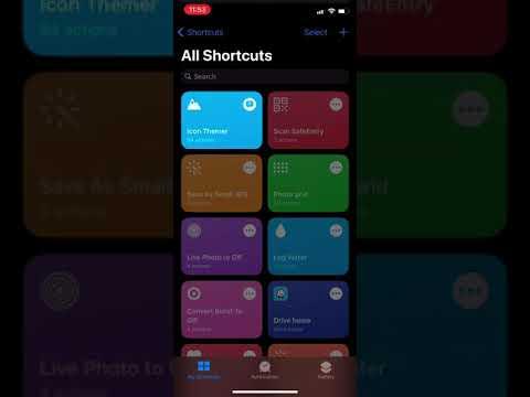 iOS custom app icons - Step 3: Create a new custom app launcher