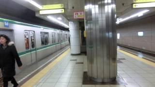 Repeat youtube video 東京メトロ千代田線 乃木坂駅 16000系&小田急4000形