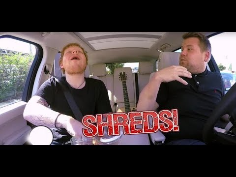 Ed Sheeran - Carpool Karaoke SHREDS!