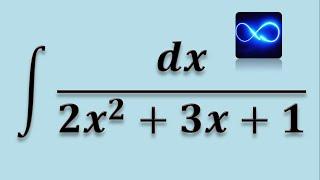 Integral completando el trinomio cuadrado perfecto