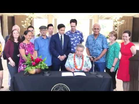 Hawai`i becomes first state to enact law that aligns with Paris agreement