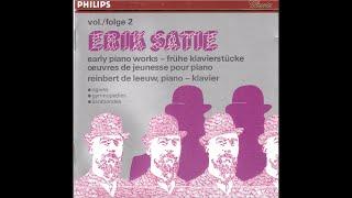 Erik Satie early pianoworks - Reinbert de Leeuw - part 2 (full album)