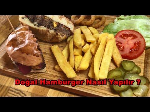 Naturel (Organik)  Hamburger Nasıl Yapılır ? w / Burger Check
