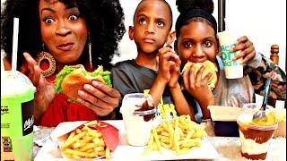 MUKBANG: MCDONALDS WITH THE KIDS! EATING SHOW! YUMMYBITESTV