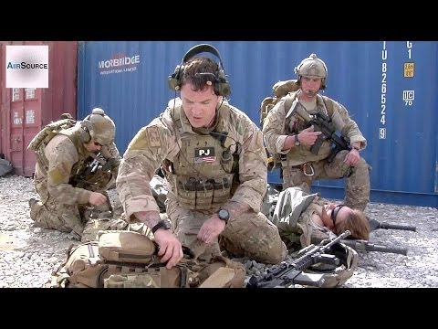 USAF Pararescuemen Train in Afghanistan