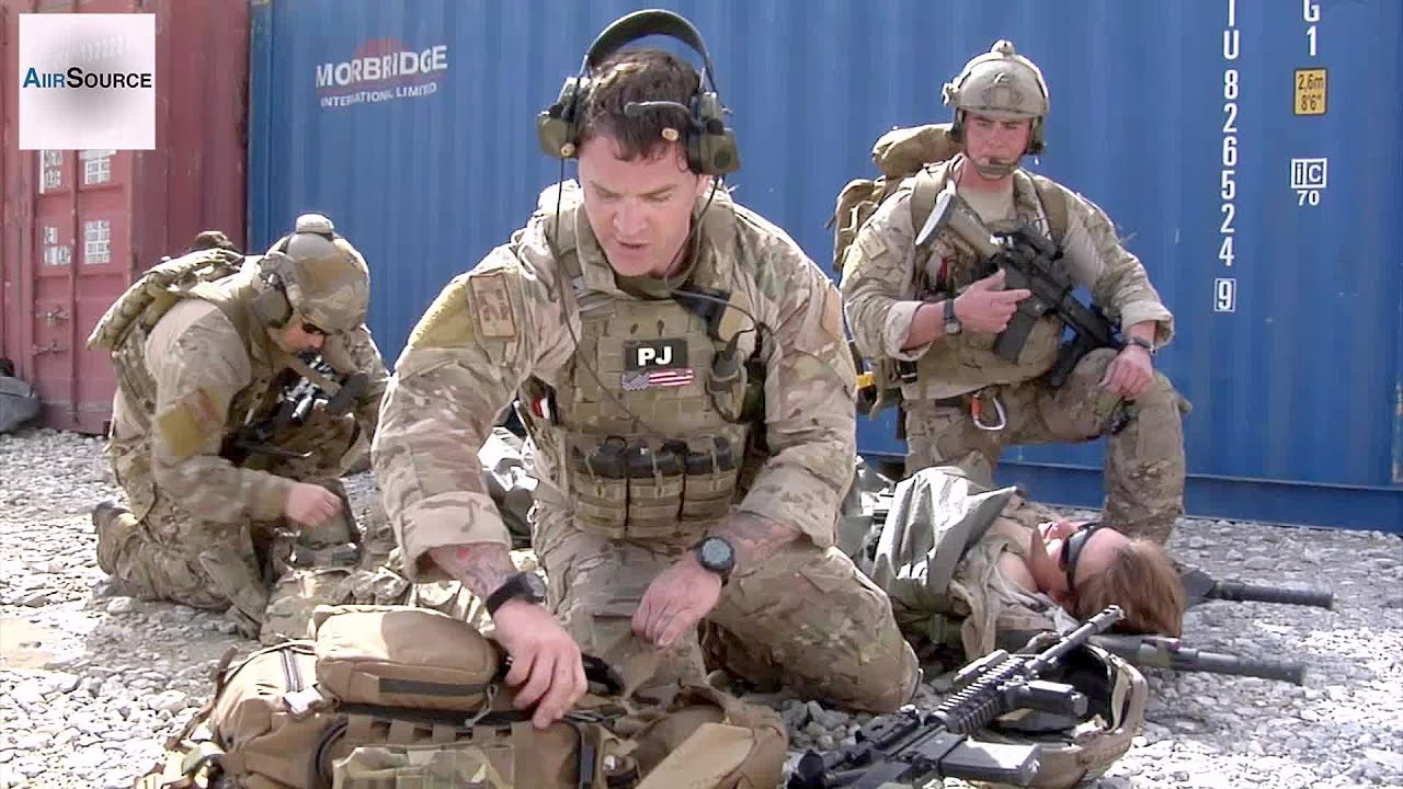 USAF Pararescuemen Train in Afghanistan