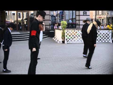 Видео, 25 июня Флешмоб в честь Дня памяти Майкла Джексона