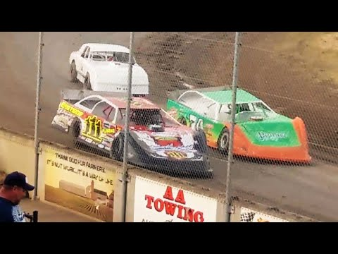 Lebanon,Oregon May 26 & July 14 2018 plus Joey Tanner post race Walters Classic @ Sunset Speedway.Shot with cell phone. - dirt track racing video image
