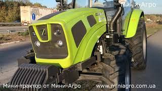 Обзор трактора ZOOMLION RH 1104