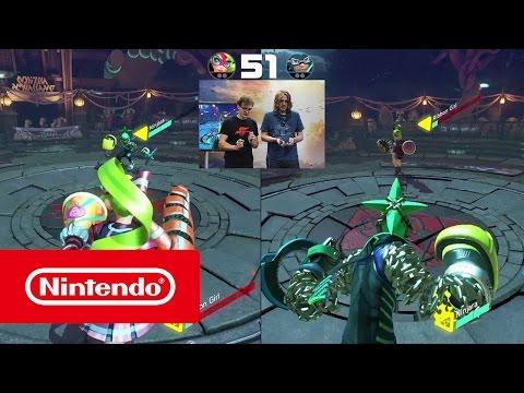 "Nintendo @ LBM 2017 - Wir spielen ""ARMS"" mit LookslikeLink"