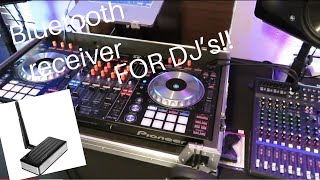 Bluetooth Receiver for Wedding DJ's