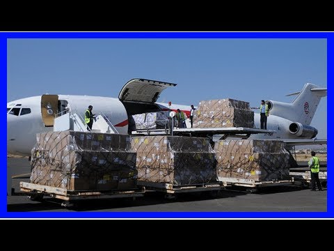 News today-the first food aid to yemen after a nearly three-week-long blockage