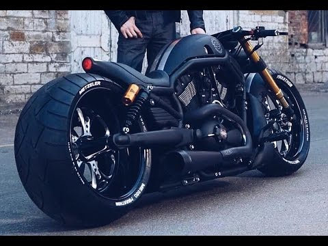 harley davidson v rod usa customizing bikes youtube. Black Bedroom Furniture Sets. Home Design Ideas