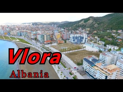 Vlora 2018, Albania spring, shooting drone Full HD #4