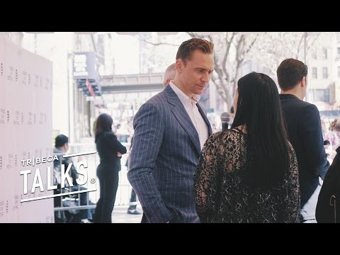 TOM HIDDLESTON AND SUSANNE BIER DISCUSSED THEIR  NEW SERIES THE NIGHT MANAGER AT TRIBECA 2016