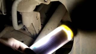 Troca da bucha da barra estabilizadora e pivô VW Polo (parte 1/3 - remoção bucha)