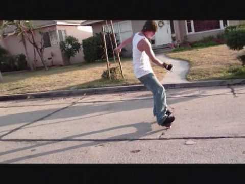 Rob Cruz & Tim Fox throwing down on a Casterboard.