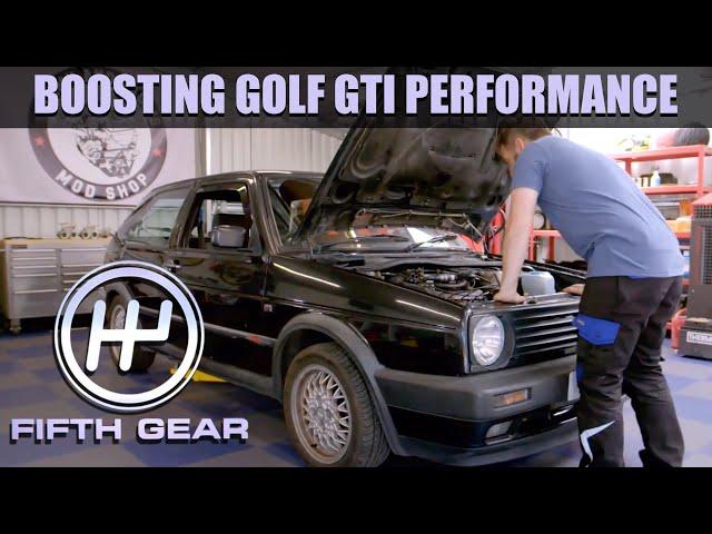 Boosting Golf GTI Performance | Fifth Gear