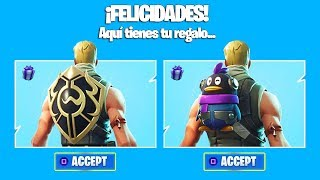 FORTNITE REGALA 2 SKINS FOR FREE! SO THEY UNLOCK FREE IN FORTNITE! YOU HAVE TO SEE IT!