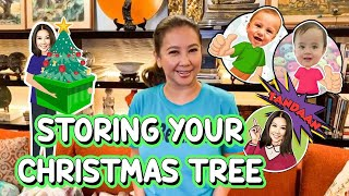 Storing Your Christmas Tree