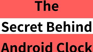 Clock Space - Secret Behind Android Clock ( Must Try this App )- Tech Knowledge Hindi