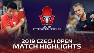 Александр Шибаев vs Ma Te | Czech Open 2019 (R16)
