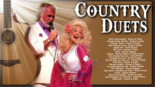 Kenny Rogers, Dolly Parton Greatest Hits Country Music Duets Songs - Best Classic Country Love Songs