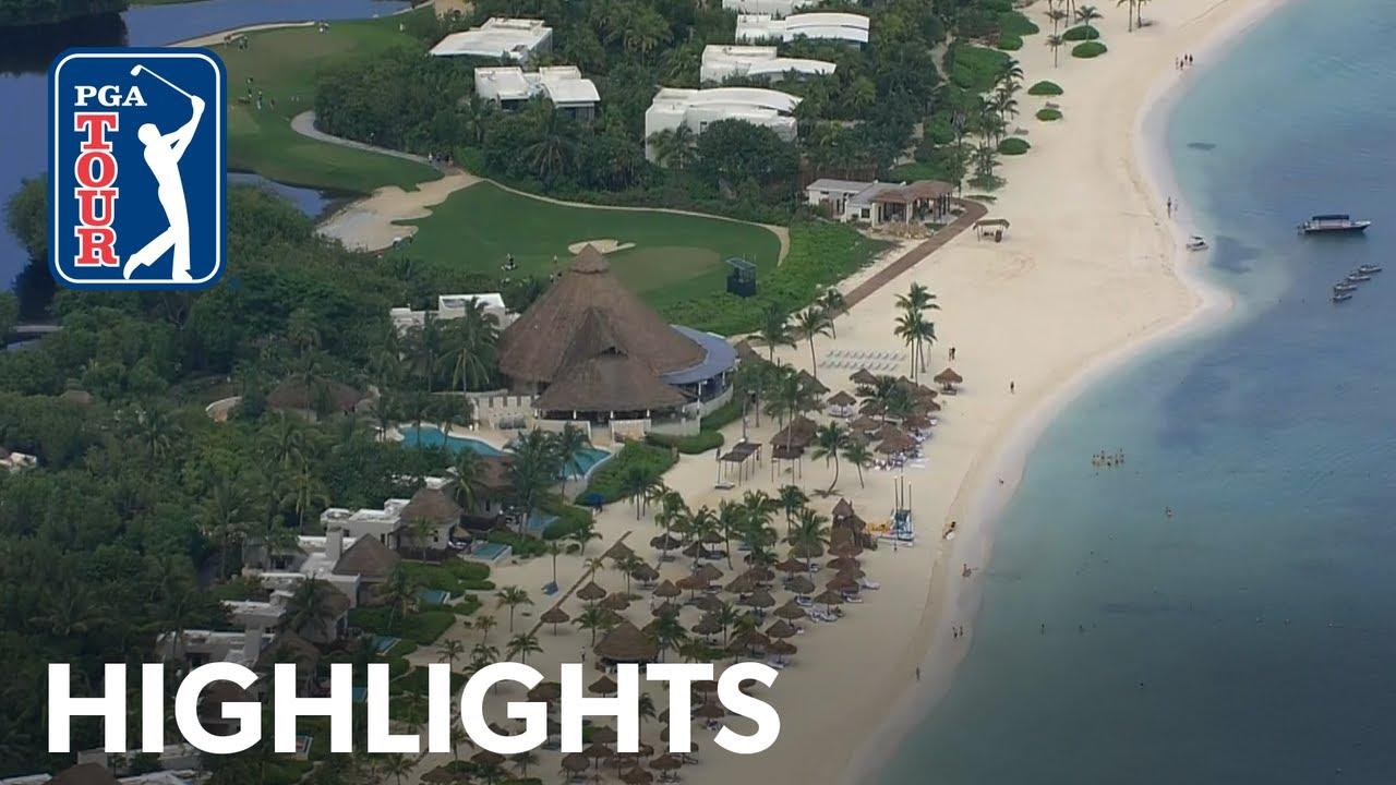 Highlights   Round 2   Mayakoba Golf Classic 2019