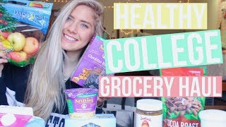 healthy college grocery haul!